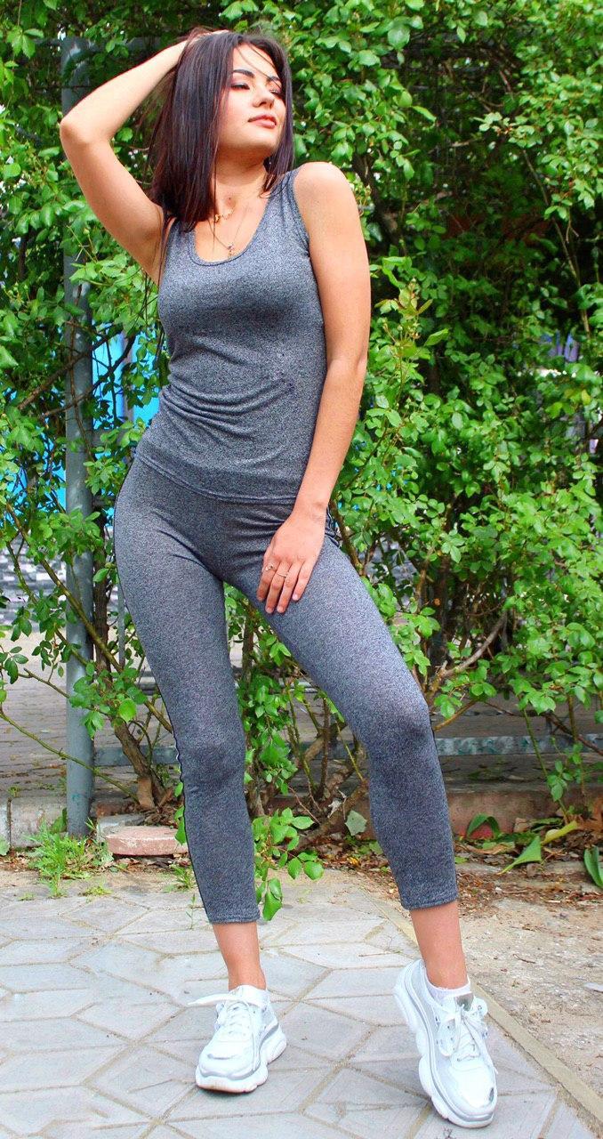 Спортивный костюм Rush 030619 40 Серый