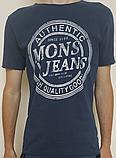 Мужская футболка Mons Jeans красная, зеленая, белая, синяя, серая, фото 6