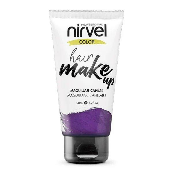 Nirvel. Make up. Прямой пигмент для волос. Макияж для волос.