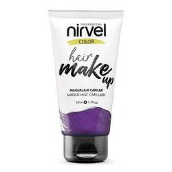 Nirvel. Make up. Прямий пігмент для волосся. Макіяж для волосся.