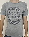 Мужская футболка Mons Jeans красная, зеленая, белая, синяя, серая, фото 8
