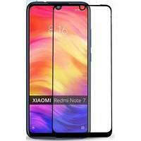 Защитное стекло для Xiaomi Mi 10 Lite Ксиоми Сяоми Ноут по всей поверхности черное 2.5D Full Glue