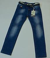 Джинсы летние голубые  для мальчика на рост 134 см