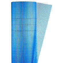 Стеклосетка штукатурная щелочестойкая синяя 160г/м2 5×5мм 1×50м SIGMA (8406691)