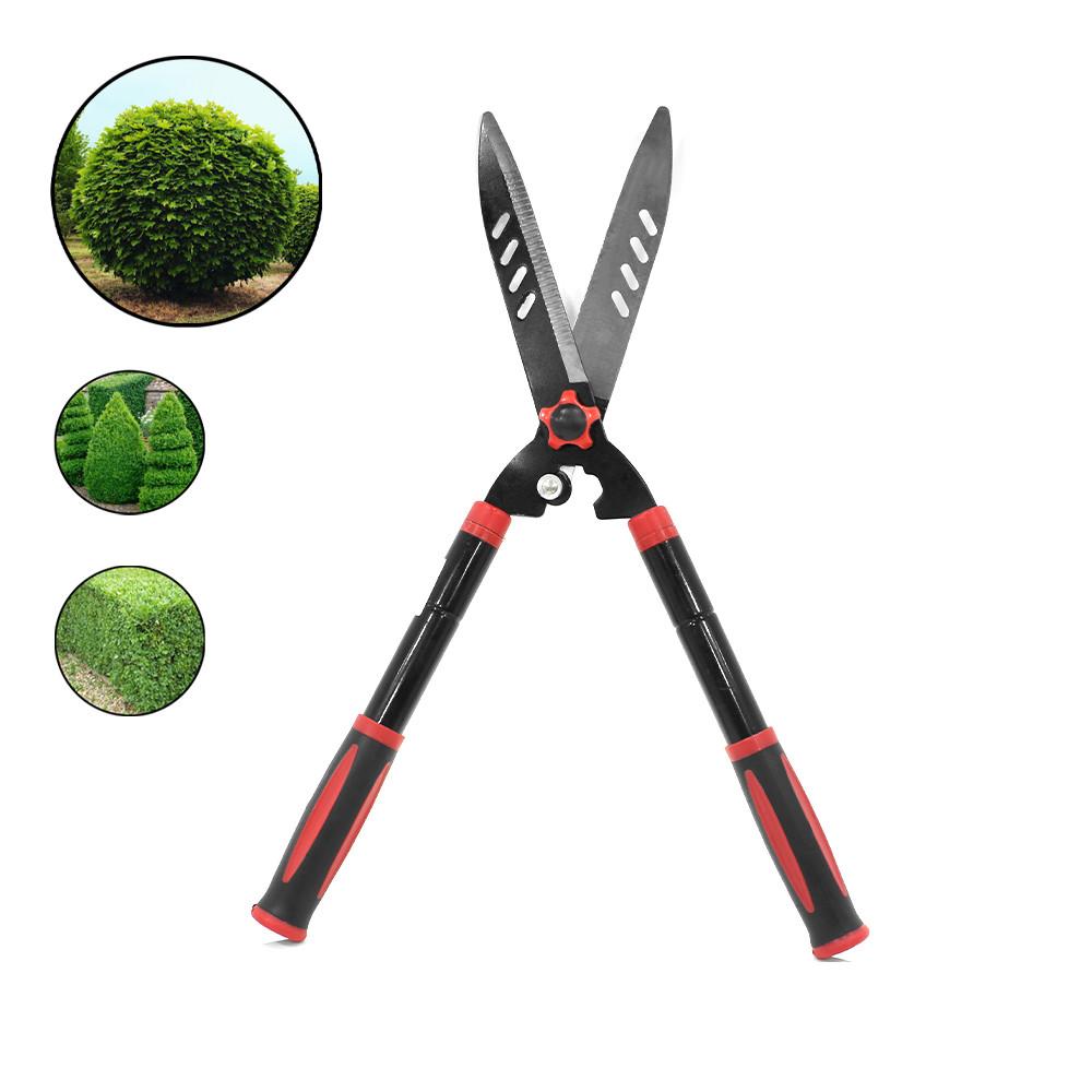 Ножницы DingKe 740 мм для подрезки живой изгороди садовые кусторез из стали