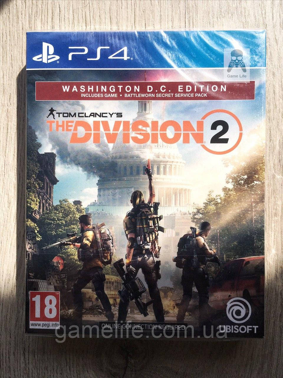 Tom Clancy's The Division 2 Washington D.C. Edition (новый) (рус.) PS4