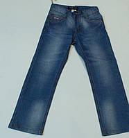 Джинсы летние голубые  для мальчика на рост 122-128  см