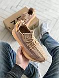 Чоловічі і жіночі кросівки сітка Adidas Yeezy 350 v2, фото 4