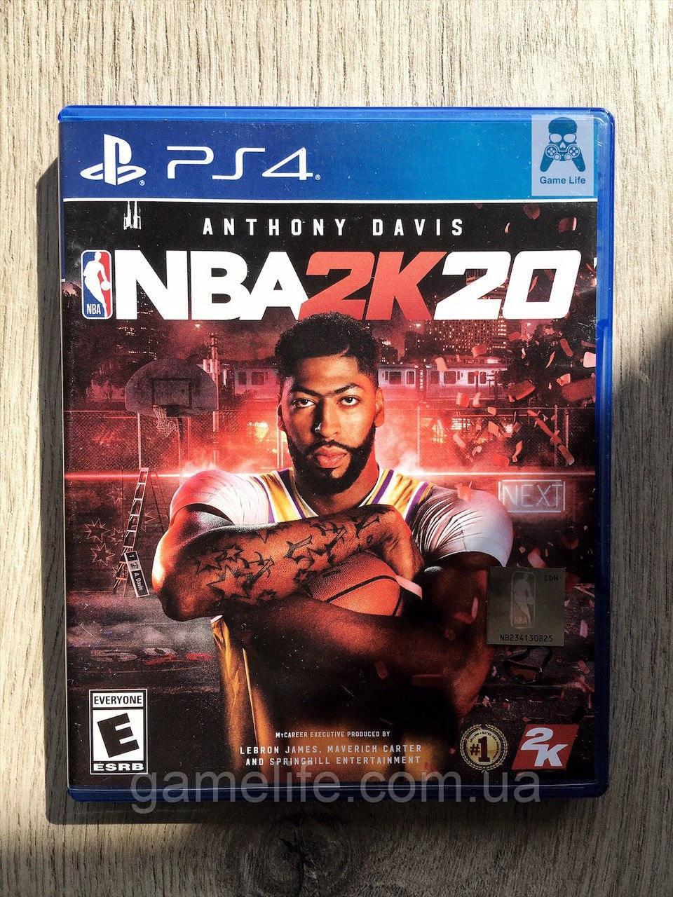 NBA 2k20 (англ.) (б/у) PS4