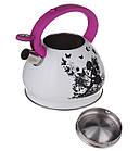 Чайник со свистком для плиты A-PLUS 3 л Термо-рисунок Девочка с крыльями, фото 2