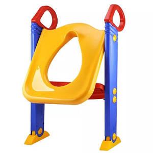 Детское сиденье со ступенькой для унитаза Froggie 176947
