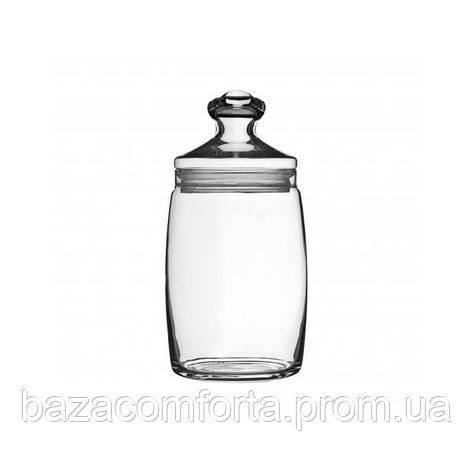 Банка 1100мл Cesni 97425 с герметичной стеклянной крышкой (1шт), фото 2