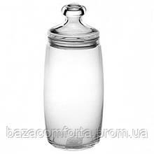 Банку 1500мл Cesni 97426 з герметичною скляною кришкою (1шт)