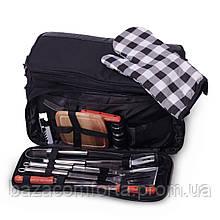 Набір для пікніка Скаут в комплекті з ізотермічною сумкою 10.5 л (42*25*23см)