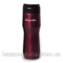 Термокружка Kamille 450мл з нержавіючої сталі