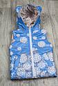 Детская жилетка Цветы для девочки на рост 80-110  см, фото 5