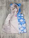 Детская жилетка Цветы для девочки на рост 80-110  см, фото 8