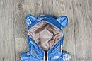 Детская жилетка Цветы для девочки на рост 80-110  см, фото 7