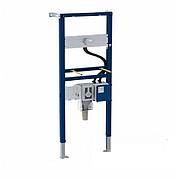 Инсалляция для умывальника, Geberit Duofix 111.562.00.1, 130 см, под настенный смеситель с функциональным блоком скрытого монтажа, с внутристенным