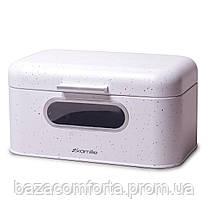 Хлібниця Kamille 30*19.5*15.5 см із нержавіючої сталі
