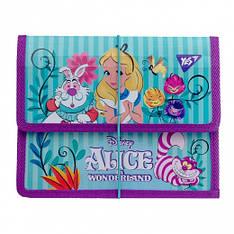 """Папка для тетрадей YES пластиковая на резинке В5 """"Alice"""""""