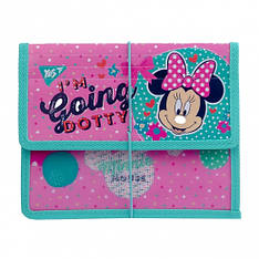 """Папка для тетрадей YES пластиковая на резинке В5 """"Minnie Mouse"""""""