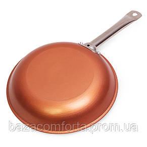 Сковорода чугунная 28см, фото 2