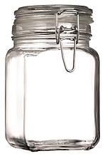 Банку 1050мл Bella Kavanos 97626 з герметичною скляною кришкою і металевим замком (1шт)