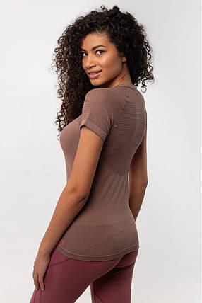 Женская футболка AVECS (Lilac), фото 2