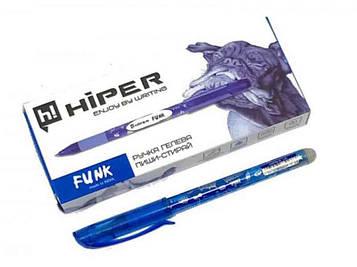 Ручкa пиши-стирай Hiper Funk HG-215 синяя 10шт