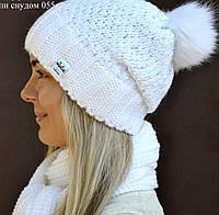 Шапка с бубоном из Писца (Зима), фото 1