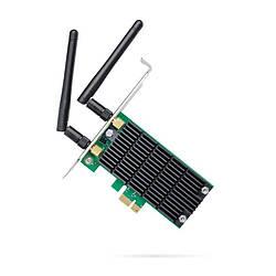 Беспроводной адаптер TP-Link Archer T4E (AC1200, PCI-E, 2 съемные антенны)