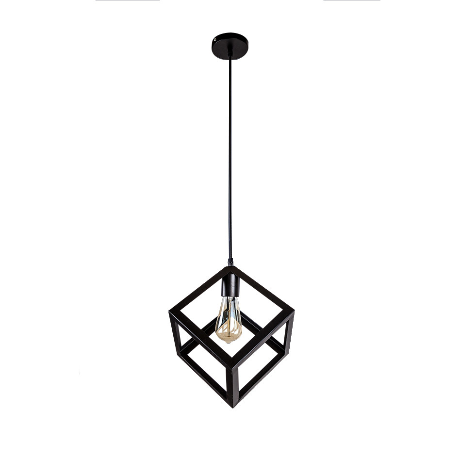 Светильник подвесной LOFT кубик LV 756PR200F-1 BK