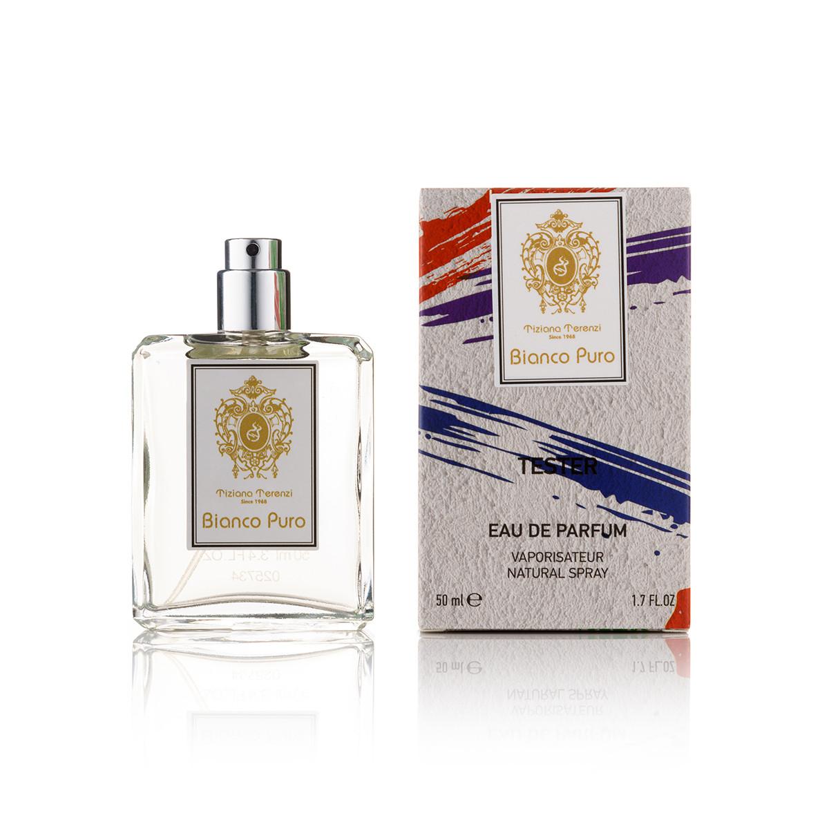 50 мл парфум тестер Tiziana Унд Bianco Puro - (Унісекс) (new)