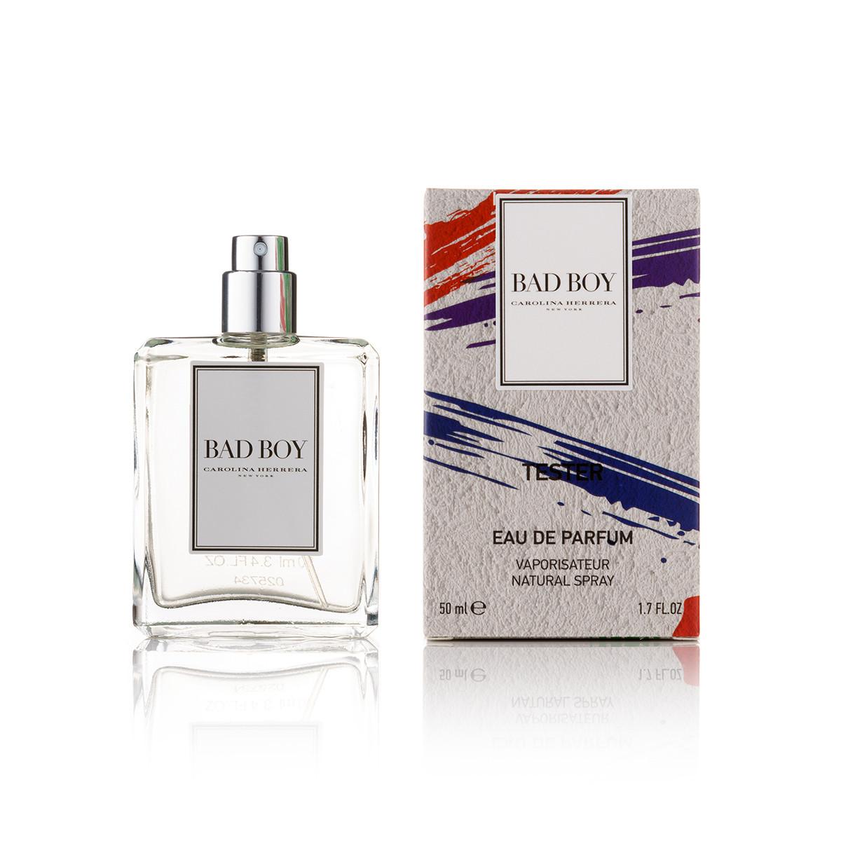 50 мл парфум тестер Carolina Herrera Bad Boy - (М) (new)