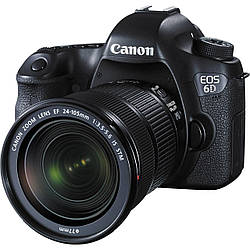 Зеркальный фотоаппарат Canon EOS 6D kit (24-105 mm) IS STM