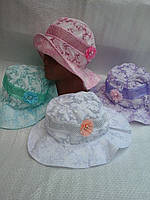 Шляпка летняя для девочки мисс