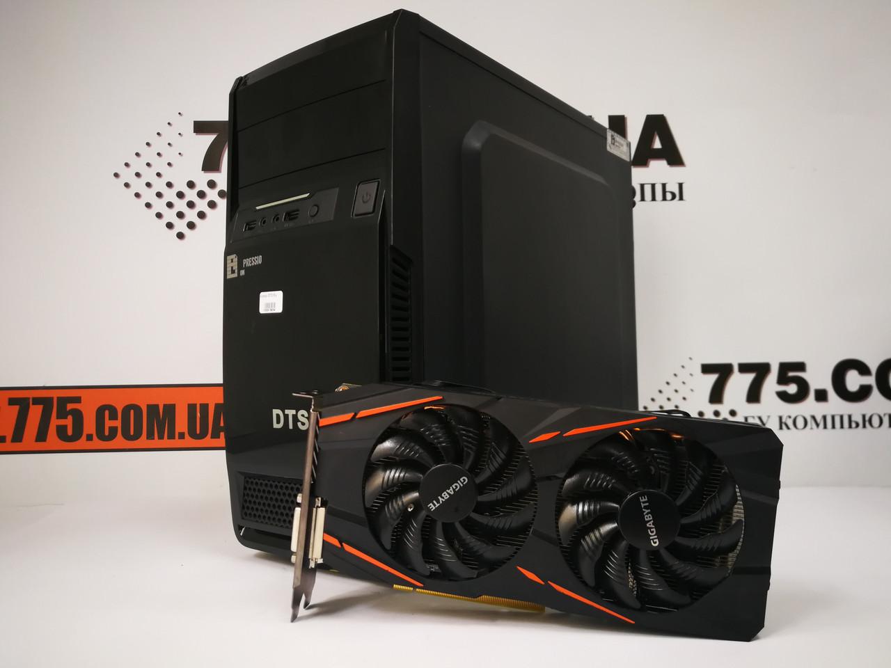 Игровой компьютер EuroCom, Intel Core i5-4570 3.6GHz, RAM 8ГБ, SSD 120ГБ, HDD 500ГБ, Radeon RX 570 4GB