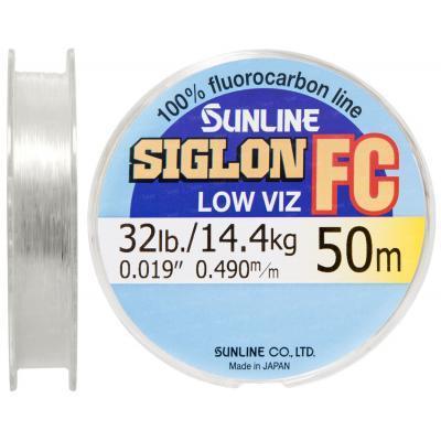 Флюорокарбон Sunline SIG-FC 50м 0.490мм 14.4кг поводковый (1658.01.47)