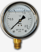 Манометры МТ-3У (глицерин), диаметр 100 мм