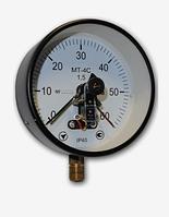 Електроконтактні манометри МТ-4С (діаметр 150мм, 160мм)