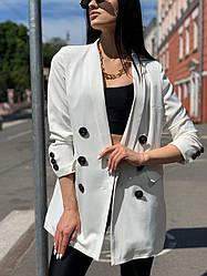 Стильный однотонный пиджак