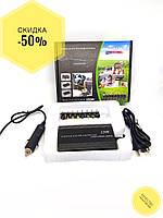 Зарядка универсальная для ноутбука + USB, 120W, 12V в авто или 220V. Зарядка автомобильная от прикуривателя., фото 2