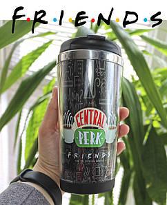 "Термостакан Друзья ""Central Perk"" / Friends"