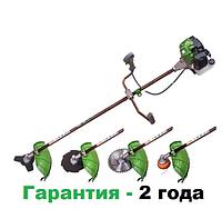 Мотокоса Кедр БГ-6200 (гарантия 2 года, 3 ножа, 2 катушки)