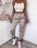 Жіночі штани літні з шовку в кольорах, фото 2