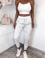Жіночі штани літні з шовку в кольорах, фото 3