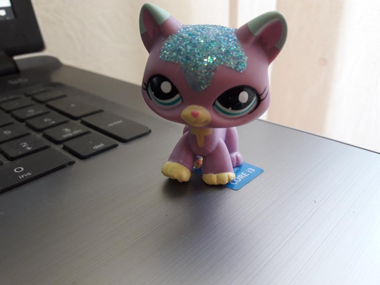 Lps littlest pet shop стоячки - лпс кошка Hasbro #2386-старая коллекция