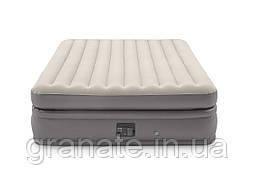 Надувная кровать со встроенным насосом 203*152*51см