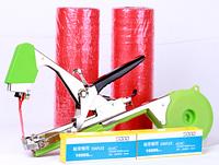 Усиленный степлер для подвязки растений Tapetool + скобы 10000шт +лента 20 рулонов